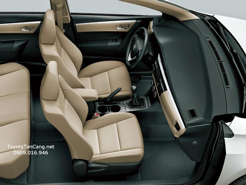 toyota corolla altis 2015 toyota tan cang 6 - Trải nghiệm Toyota Corolla Altis 2015: Tin cậy đến từng chi tiết - Muaxegiatot.vn