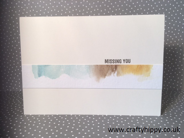 Watercolor Paper, Stampin' Up!