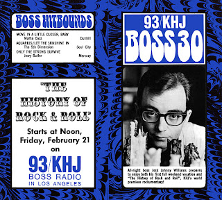 KHJ Boss 30 No. 190 - Johnny Williams