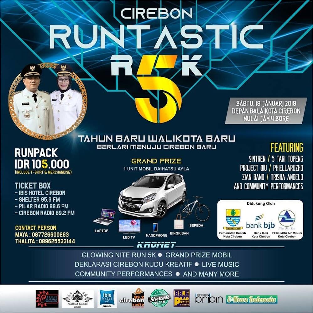 Cirebon Runtastic R5K • 2019