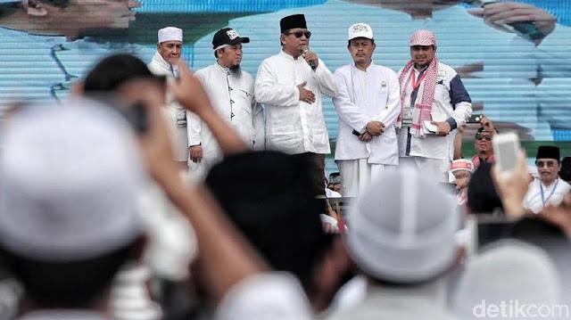 Gerindra Jawab Hanura: Jangan Ragukan Komitmen Prabowo Bela Islam