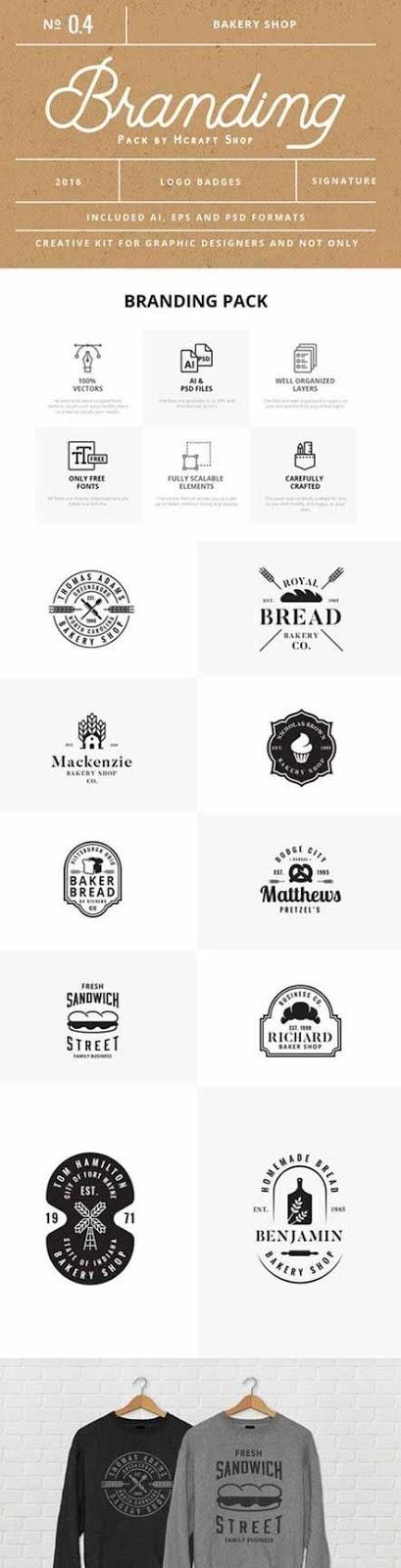 Pack de branding