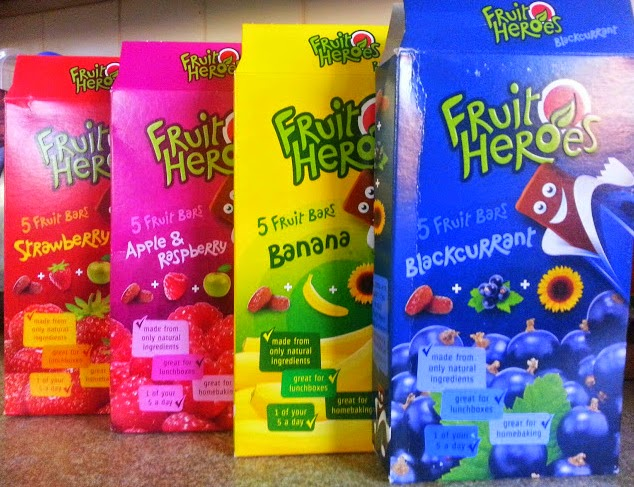 Fruit Heroes children's all natural snack bars review