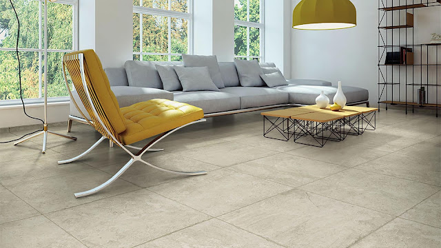 Tiles design for home flooring with Chantal collection - The versatility of stone