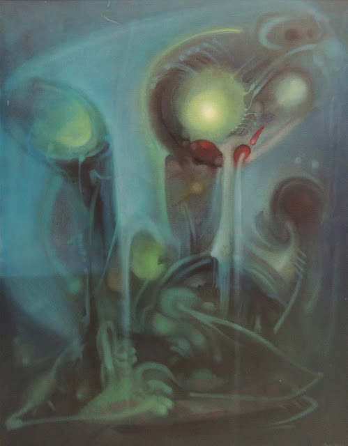 Mauro Mejíaz artista pintura surrealista