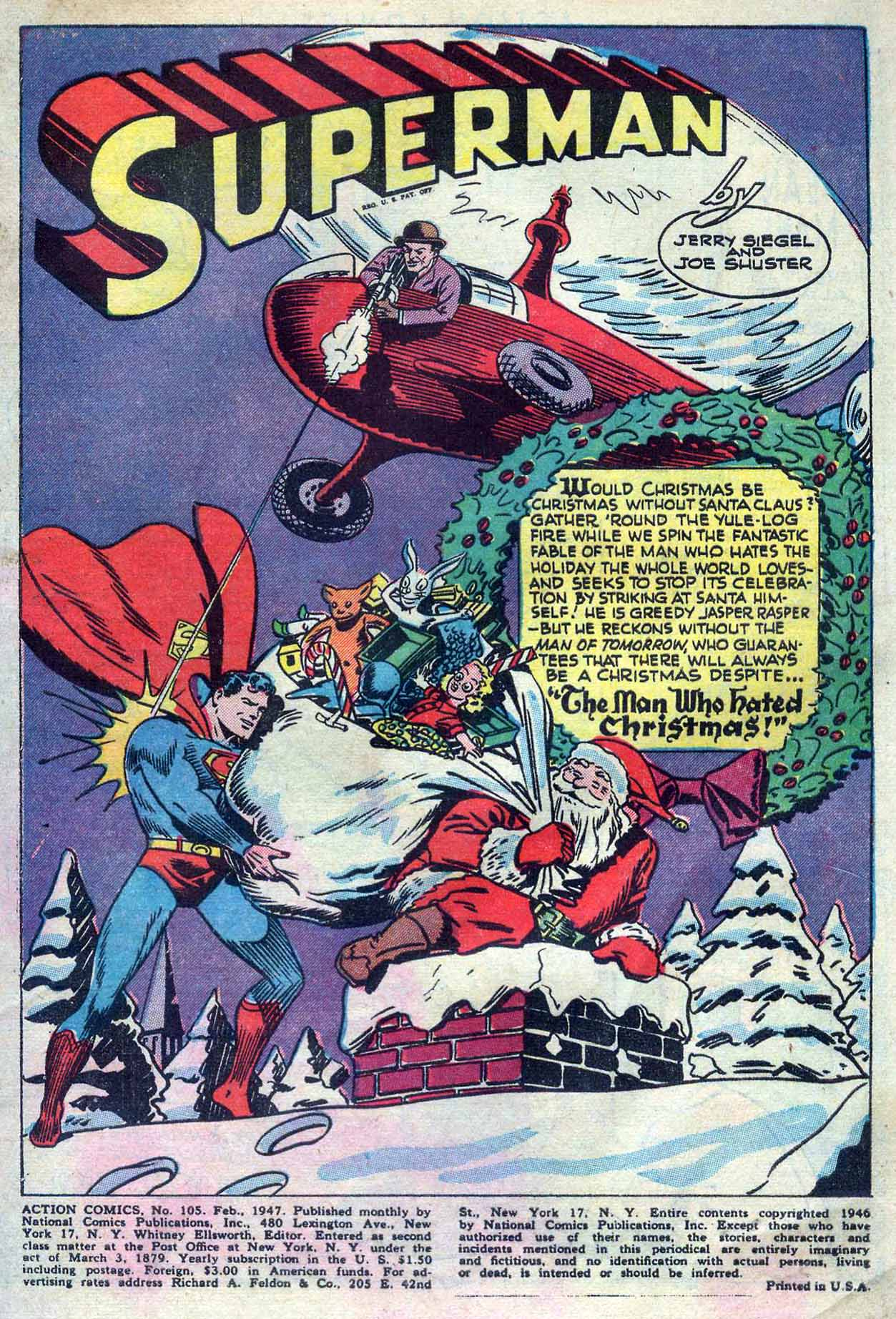 Read online Action Comics (1938) comic -  Issue #105 - 3