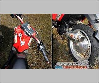 Kumpulan Gambar Modifikasi Motor X Ride Terbaru Trail