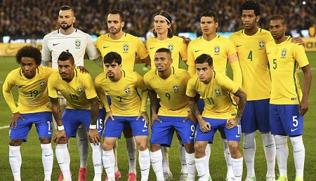 Assistir Brasil x Austrália AO VIVO 13/06/2017 - Transmissão TV - Horário