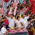 Caravana de Rui com Haddad e Manuela reúne dez mil pessoas em Jequié