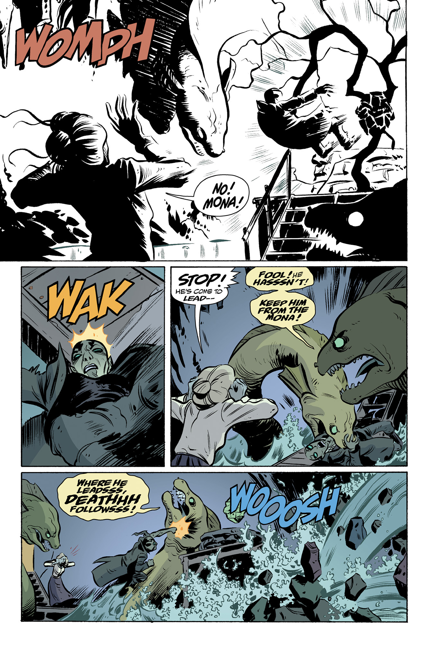 Read online Abe Sapien comic -  Issue #25 - 14
