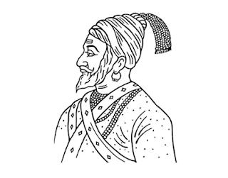 Chhatrapati shivaji drawing