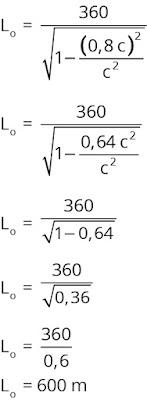 Jawaban soal fisika  tentang  relativitas nomor1