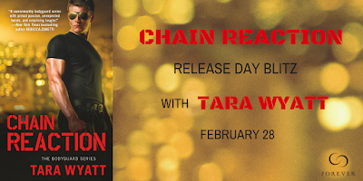 Release Blitz for Tara Wyatt's CHAIN REACTION! Excerpt & Giveaway, too.