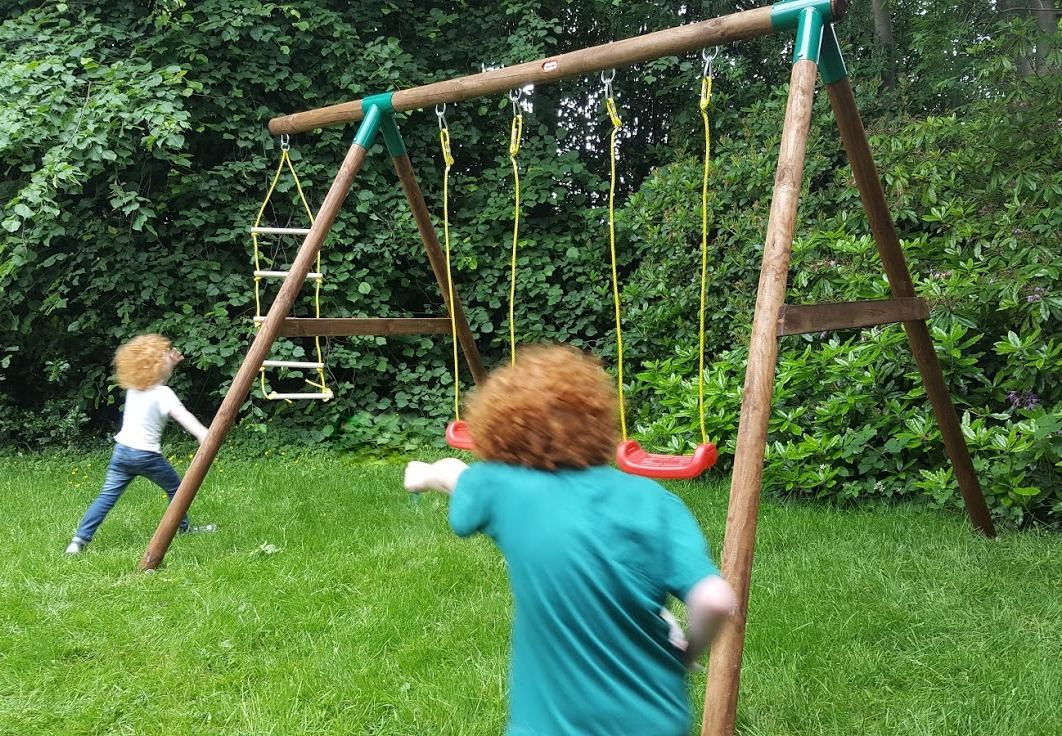 little tikes swing instructions