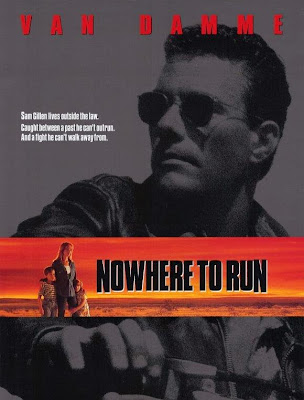 Poster Of Nowhere to Run (1993) Full Movie Hindi Dubbed Free Download Watch Online At worldfree4u.com