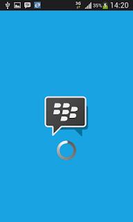 Proses logout bbm iPhone dan Android