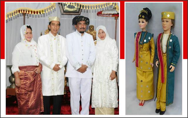 Gambar Pakaian adat bangsawan Maluku Utara