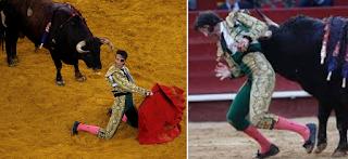 Κρατούσε το κεφάλι του για να μην του «πέσει»: Τραυματισμός ταυρομάχου σε αρένα στην Ισπανία (Σκληρό Video)