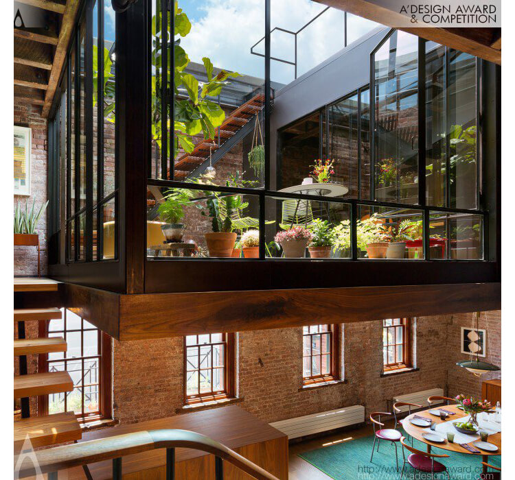 Design Award - Tribeca Loft Residential Apartment by Andrew Franz Architect