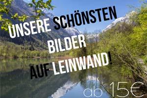 Bergbilder kaufen schoenste Fotos auf Leinwand Best Mountain Artists