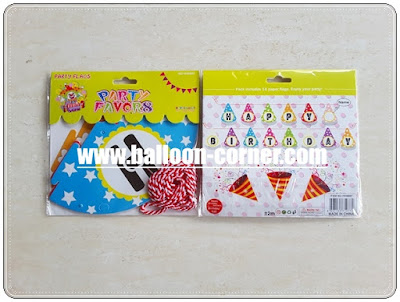 Bunting Banner HAPPY BIRTHDAY Topi