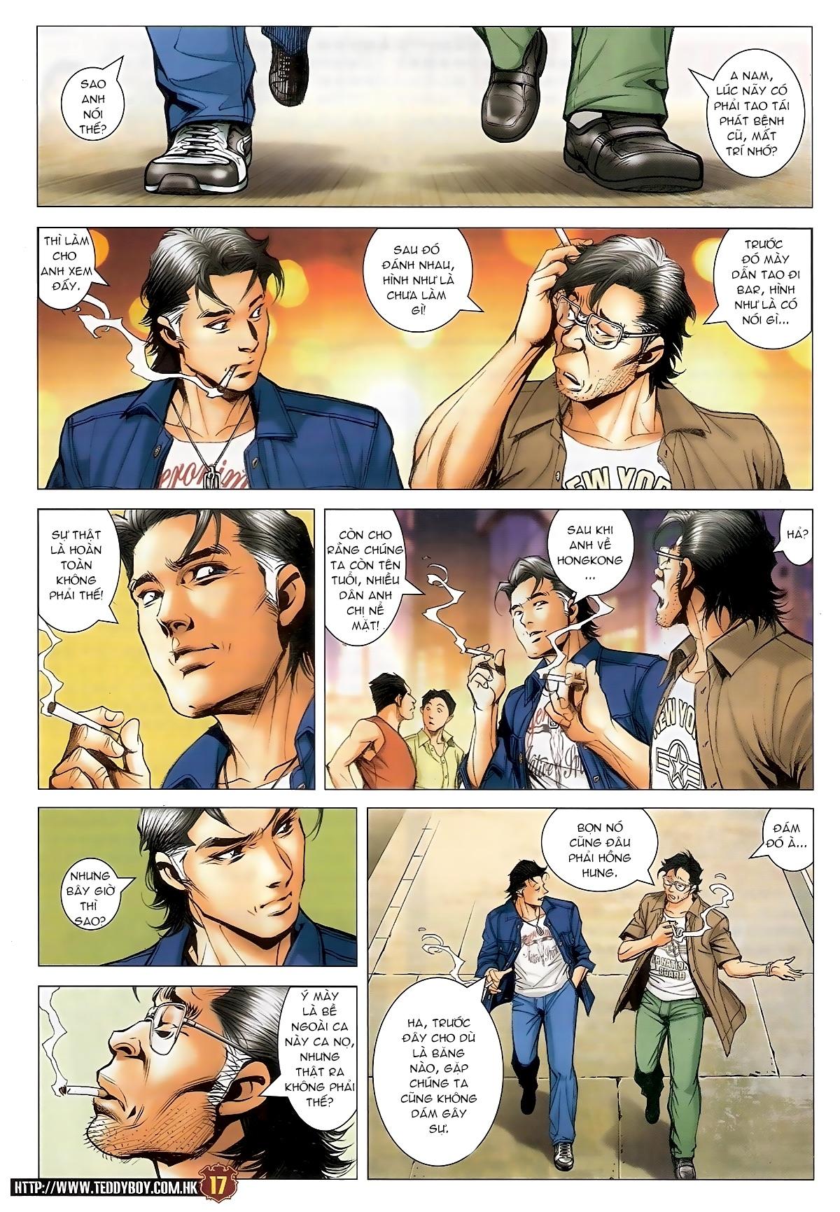 Người Trong Giang Hồ - Chapter 1548: Cha con ra trận - Pic 15