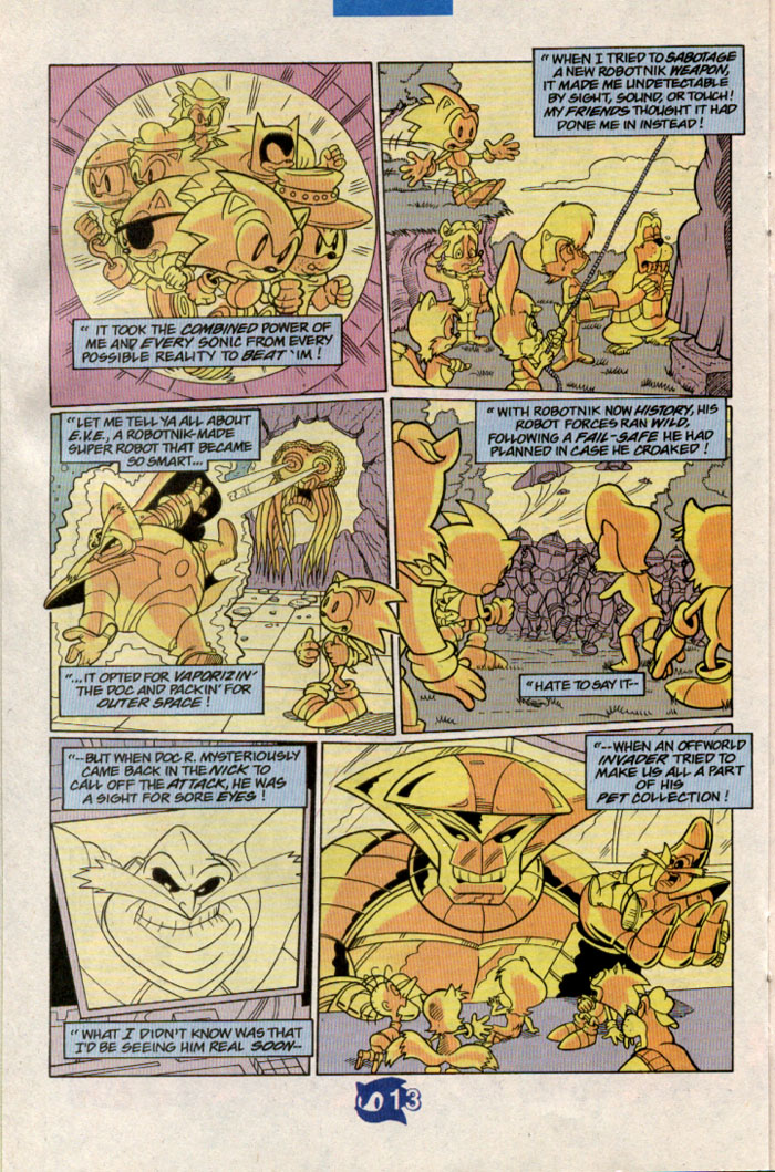 Read online Sonic The Hedgehog comic -  Issue #57 - 15