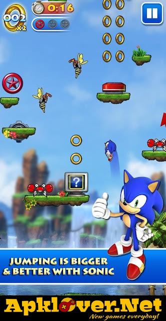 Sonic Jump Pro APK MOD unlimited money