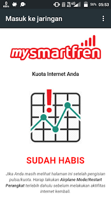 Masuk ke jaringan Smartfren
