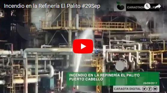Otro incendio en la Refinería de El Palito