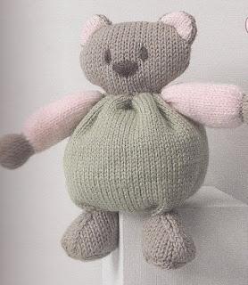 Ourson facile à tricoter