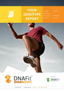 DNAFit Fitness Report