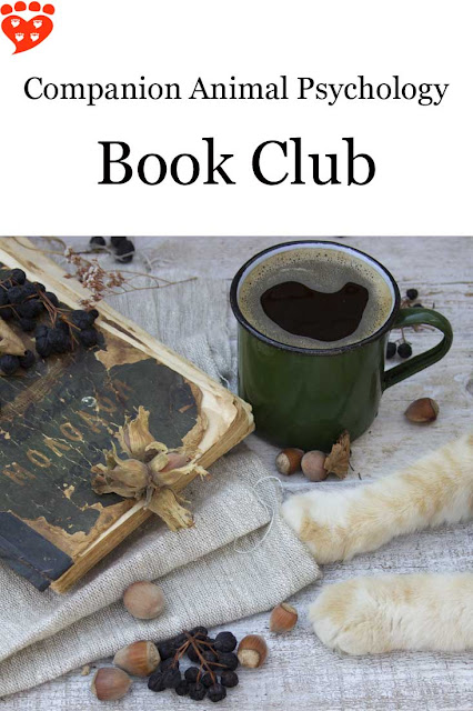 A cat, a cup of coffee and a book - what more could you want? The Companion Animal Psychology book club is for readers who love pets