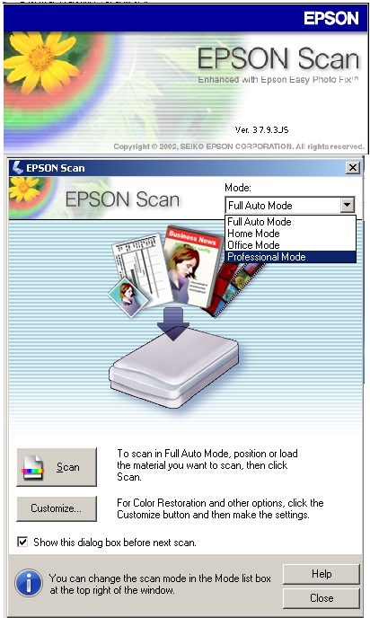cara scan di printer epson l360