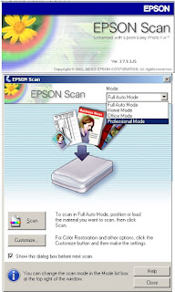 Melakukan scan di printer epson Lseries