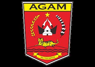 Logo Kabupaten agam Vector