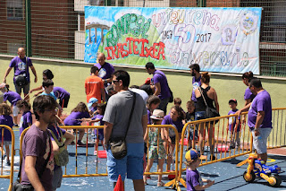 Fiesta de fin de curso en el colegio Rontegi