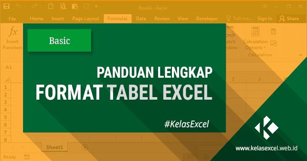 Cara Membuat Tabel Pada Microsoft Excel, Mengganti Nama & Menghapus Tabel Excel