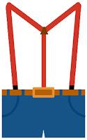suspenders clipart