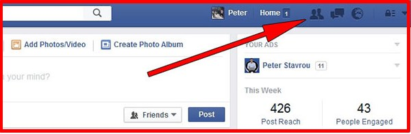 How to find your friends on facebook