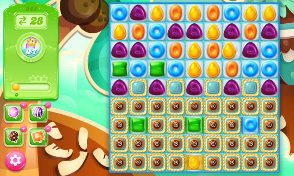 Candy Crush Jelly Saga 343