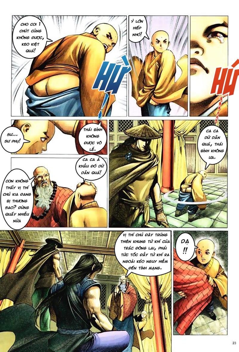 Anh hùng vô lệ Chap 6: Anh hùng hữu lệ trang 23