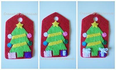 regalos-etiqueta-de-fieltro-arbol-de-navidad-etiquetas-para-regalos-navideños