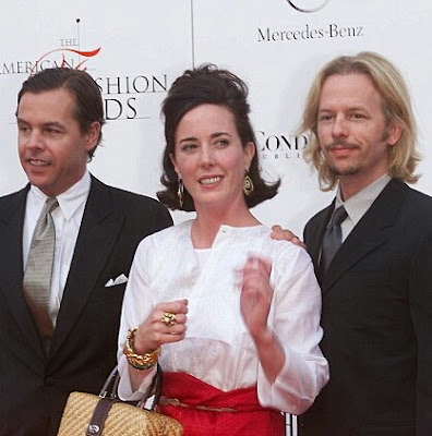 Popular designer Kate Spade has died of an apparent suicide.  The 55-year-old who shot to fame with her line of eponymous purses, is believed to have committed suicide by hanging at her home. She left a note before taking her own life.  She is survived by her husband Andy, who is the brother of actor David Spade, and her 13-year-old daughter Frances.