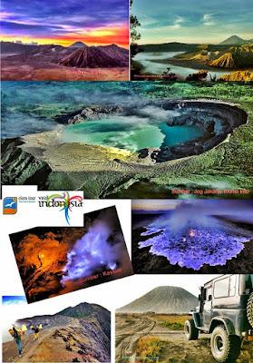 Paket Tour Bromo Sunrise and Ijen Blue Fire - eloratour