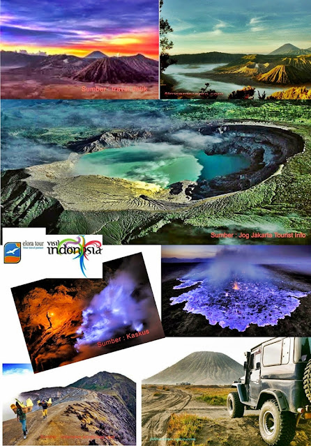 Paket Tour Bromo Sunrise and Ijen Blue Fire - eloratour