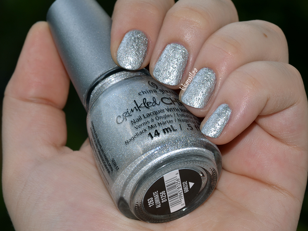 China Glaze Crinkled Chrome - Aluminate
