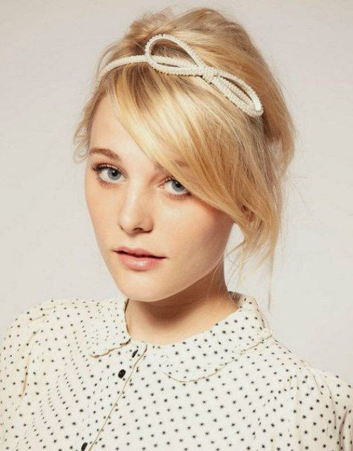 Miraculous Top Hairstyles Models 10 Easy Hairstyles For Christmas Party 2014 Short Hairstyles Gunalazisus