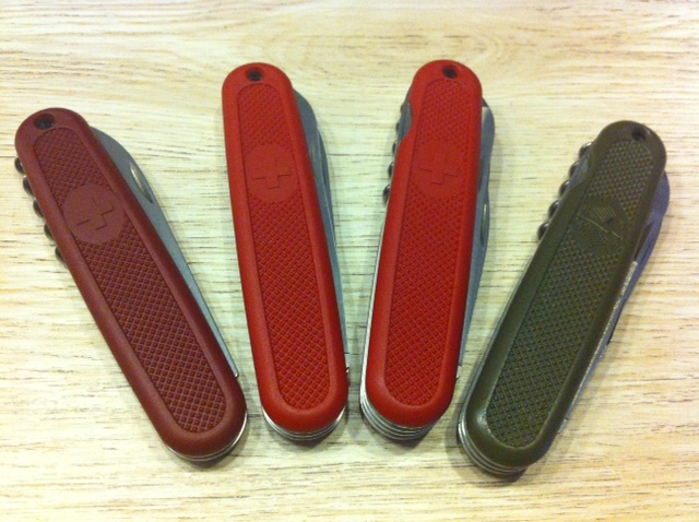 Jeroen S Victorinox Blog My 108 Mm Collection