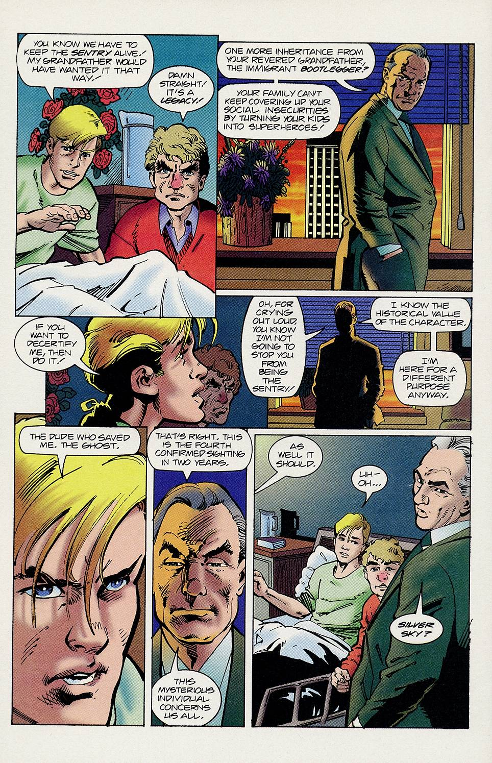 Read online Solar, Man of the Atom comic -  Issue #46 - 17